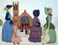 Bonnet Girls go to Church.JPG (98872 bytes)